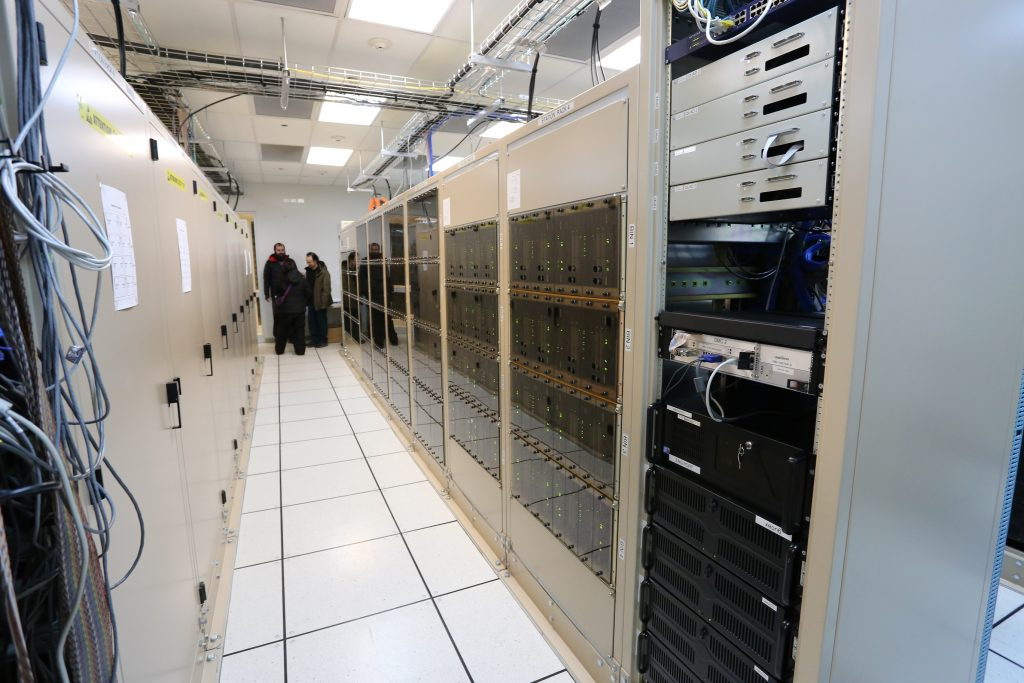 The correlator at the AOS Technical building. (Credit: J. MacArthur)